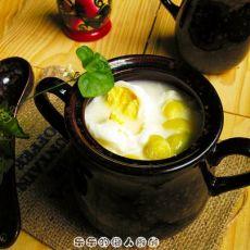 白果腐竹糖水的做法