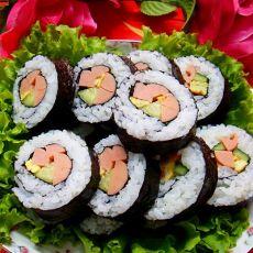 简易寿司——春游怎能少得了的小食的做法