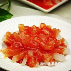 茄汁菊花萝卜