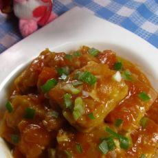 茄汁家常豆腐的做法