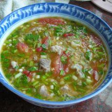 西红柿猪肉汤的做法