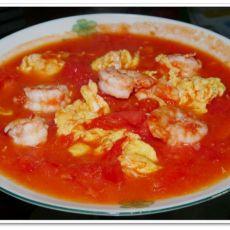 虾仁西红柿的做法