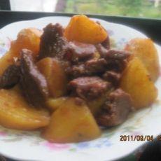 红烧牛肉土豆的做法