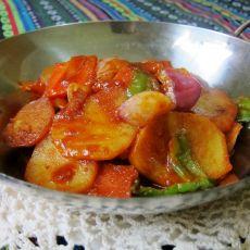 干锅土豆的做法