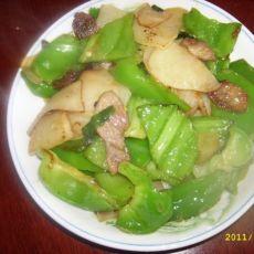 青椒炒土豆片的做法