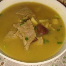 咖喱牛肉炖土豆香菇的做法