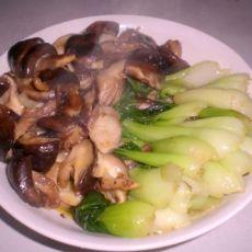 香菇青菜的做法