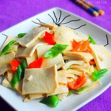 双椒千叶豆腐的做法