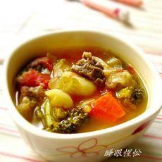 牛肉杂蔬汤的做法