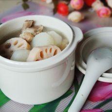 莲藕山药肉排汤的做法