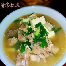 猪肉炖豆腐的做法