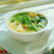 芥菜豆腐汤