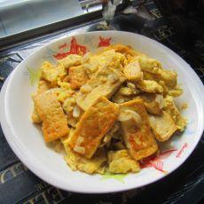 鸡蛋溜豆腐的做法