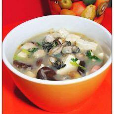 海蛎豆腐汤的做法