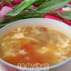 西红柿蘑菇蛋花汤的做法