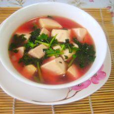 豆腐苋菜羹