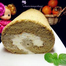 抹茶奶油蛋糕卷的做法