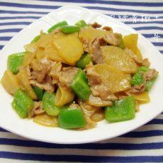肉炒青椒土豆片的做法