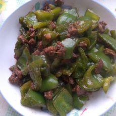 羊肉炒青椒的做法