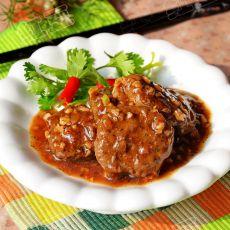 黑椒汁牛肉饼