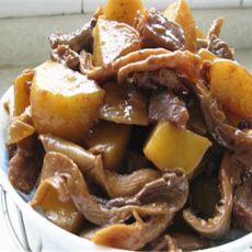 蘑菇土豆炖牛肉的做法
