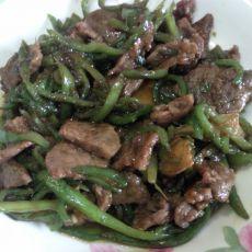 酱炒青椒牛肉的做法