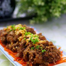 颠覆传统的咖喱粉蒸肉的做法
