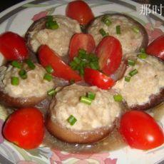 肉末酿香菇的做法