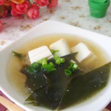 味噌海带豆腐汤的做法