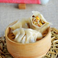 玉米猪肉蒸饺