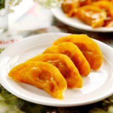 胡萝卜汁蒸饺