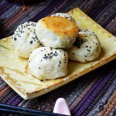 香菇青菜水煎包的做法