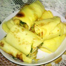 鸡蛋卷——营养早餐的做法