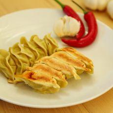 西葫芦鸡肉煎饺