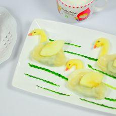 天鹅水饺的做法