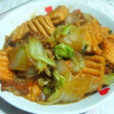 猪肉白菜烧豆腐的做法
