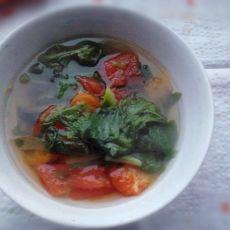生菜西红柿汤的做法