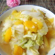 木瓜炒大白菜的做法