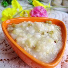 绿豆薏米粥的做法步骤