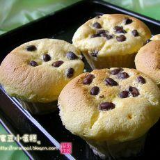 蜜豆小蛋糕的做法