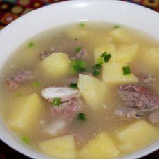 土豆排骨汤[原创首发]的做法