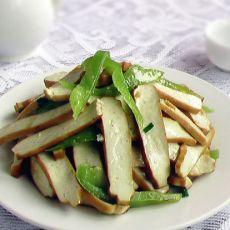 尖椒炒豆腐干的做法