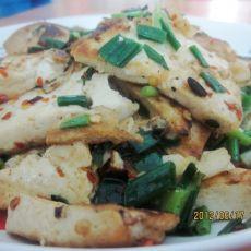 辣椒面烧豆腐的做法