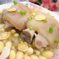 黄芪黄豆煲猪脚的做法