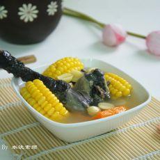 三宝乌鸡汤的做法