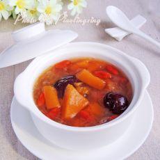 红枣南瓜银耳汤的做法