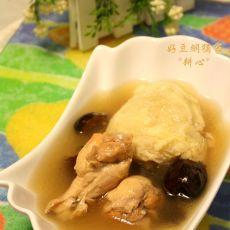 榴莲炖鸡的做法