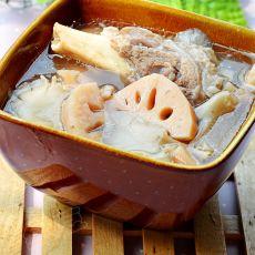 蘑菇莲藕大骨汤