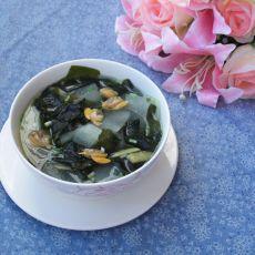 海带蛤蜊冬瓜汤的做法