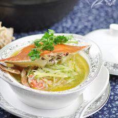 螃蟹萝卜汤的做法
